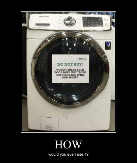 washing machine,toilet,funny