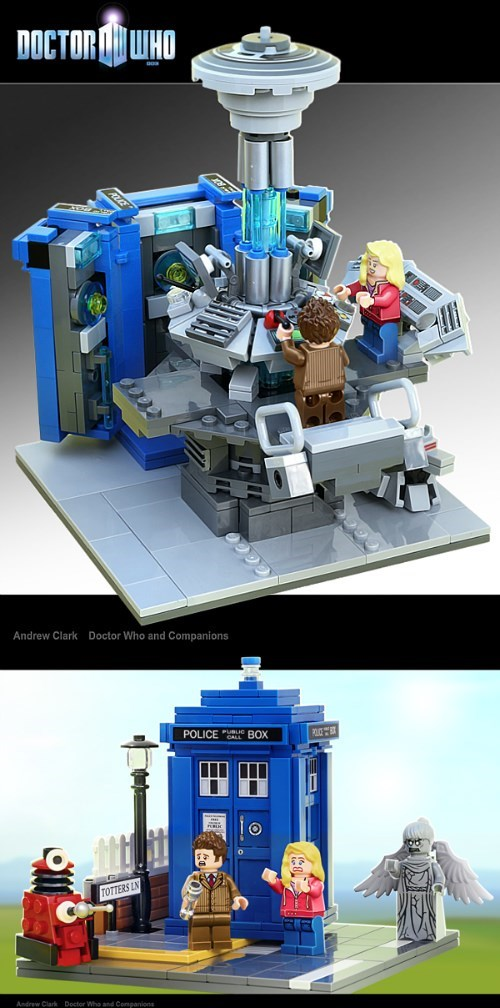 funny doctor who lego playset announced