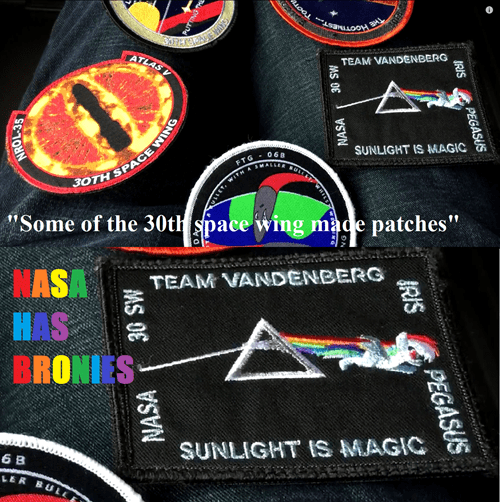 nasa brony awesome patches - 8441614592