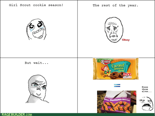 girl scout cookies sweet jesus Okay cookies - 8441684992