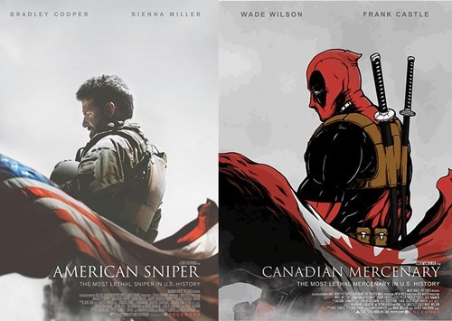 superheroes-deadpool-marvel-american-sniper-movie-poster-spoof