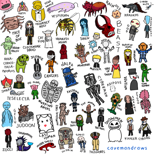 funny-doctor-who-cave-drawings-of-alien-races