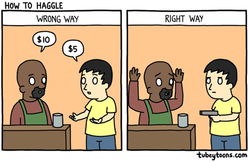 funny-web-comics-how-to-haggle-in-this-economy