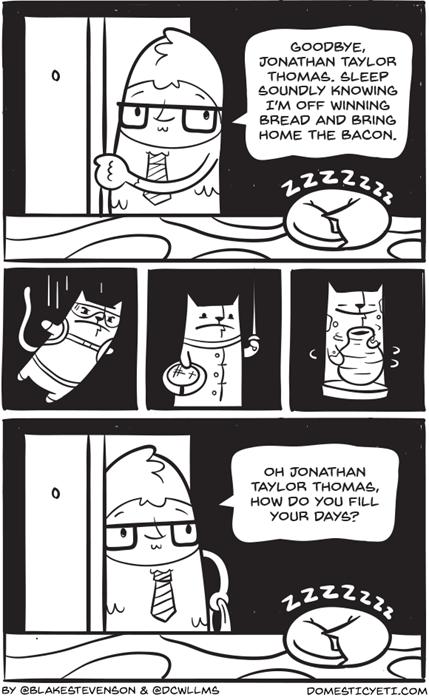 funny-web-comics-jonathan-taylor-thomas-reenacts-the-best-scenes-from-patrick-swayze-movies