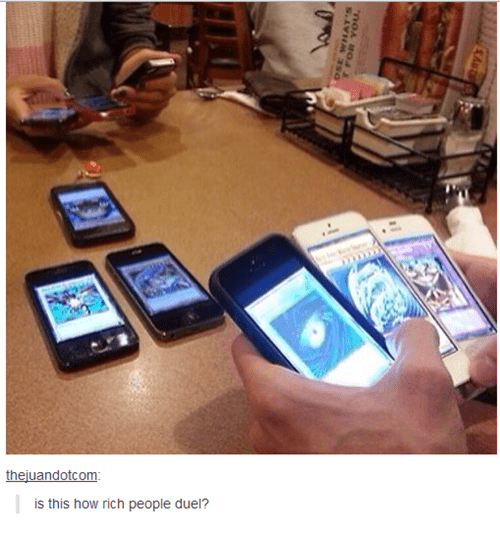 anime memes yu gi oh smart phone duel
