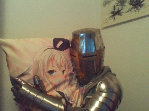 Pillow knight funny otaku - 8441948928