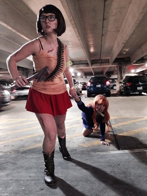 Apocalyptic Daphne and Velma
