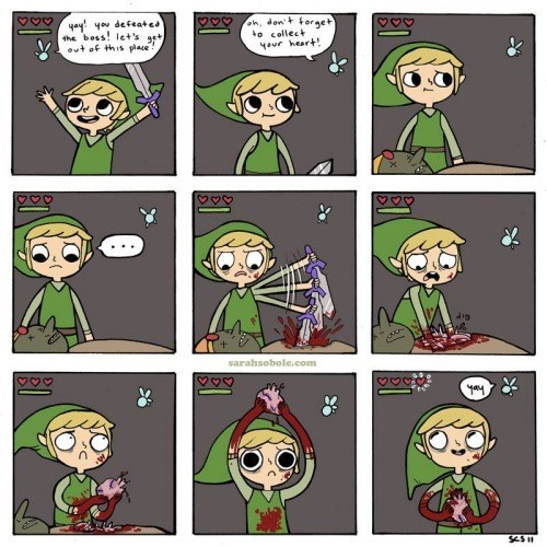 web comic, the legend of zelda,