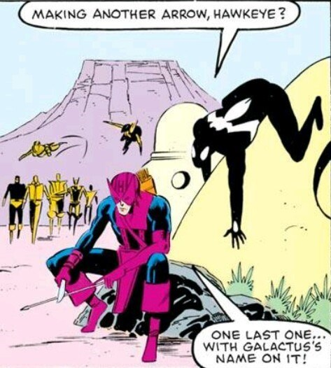 superheroes-hawkeye-marvel-worst-avenger-thinks-he-can-kill-galactus