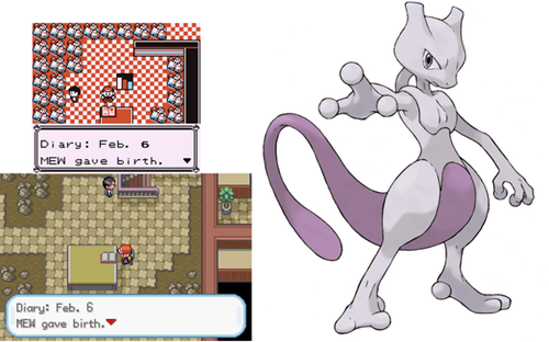 Pokémon happy birthday mewtwo