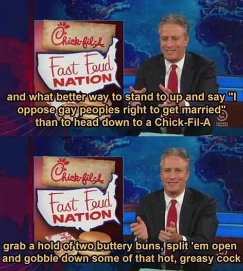 chick-fil-a is a waste of space company