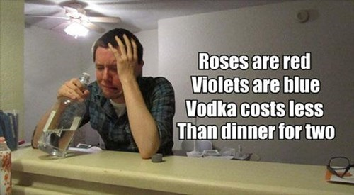 there should be more poems about vodka
