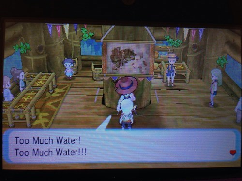 pokemon, ign, too much water,