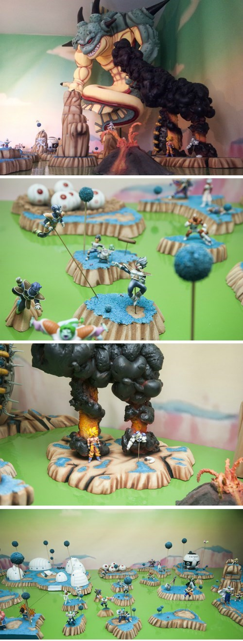 geeky-crafts-man-creates-dragonball-z-diorama-in-bedroom