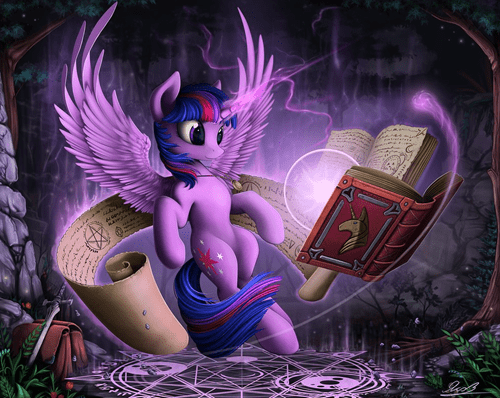 art twilight sparkle magic - 8442808832