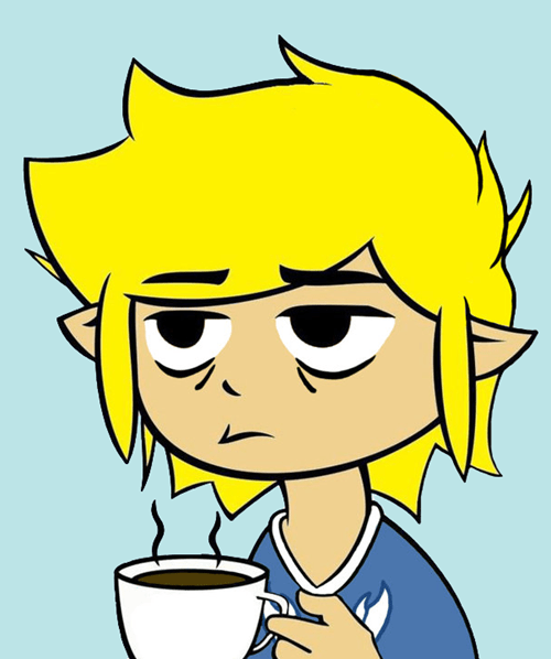 link,the legend of zelda,coffee