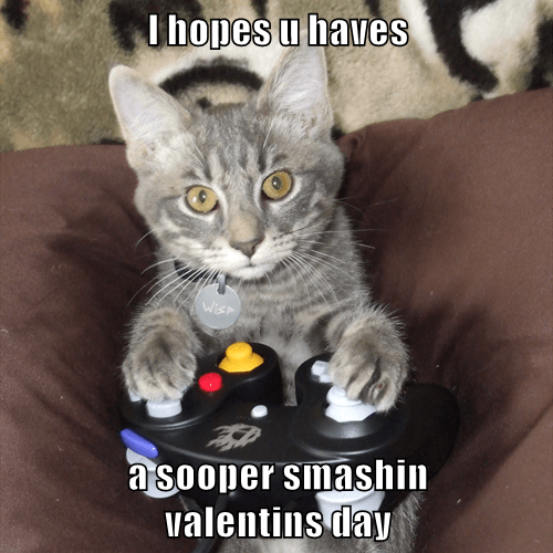 I hopes u haves   a sooper smashin              valentins day