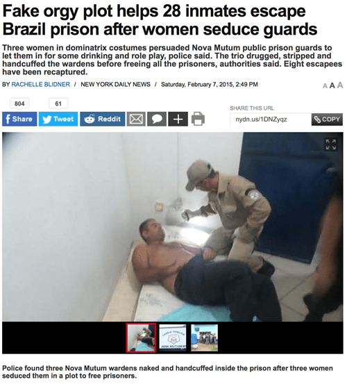 fake orgy plot to escape prison, is wonderful