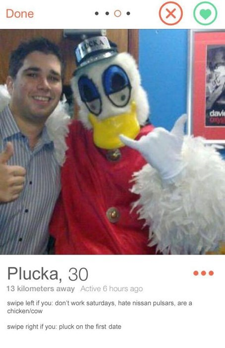 one sexy bird looking for a good time.