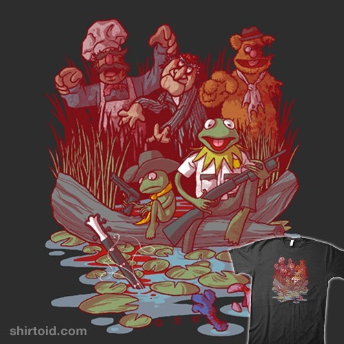 geeky-merch-muppets-walking-dead-t-shirt