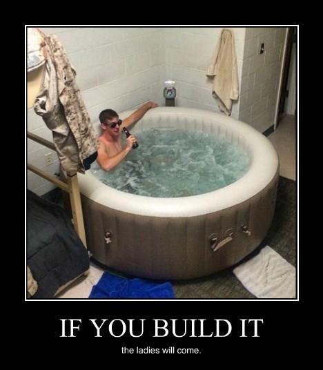hot tub,ladies,funny