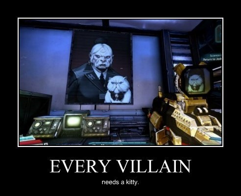 borderlands Cats funny villain - 8443852032