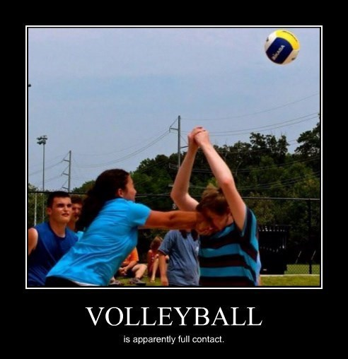 volleyball rough full contact funny - 8443852288