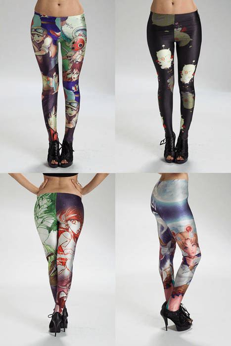 Moogle final fantasy anime sailor moon for sale studio ghibli leggings - 8443952384