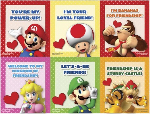 nintendo Valentines day - 8444010496