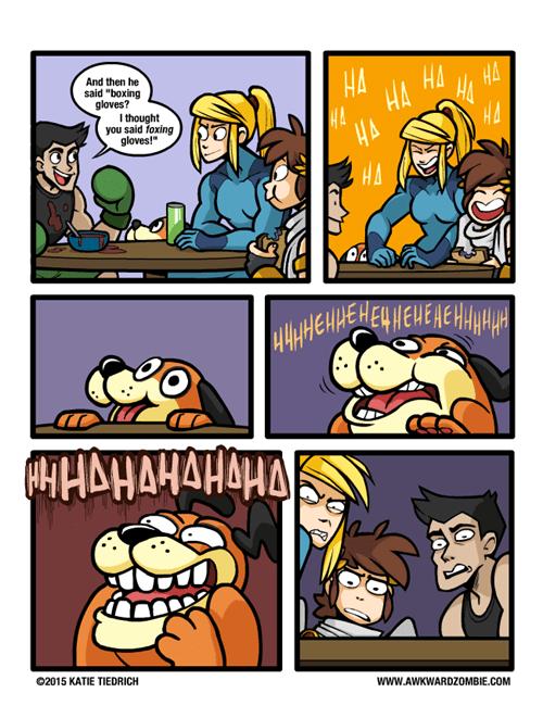 duck hunt dog, web comics,