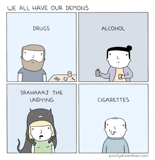 funny-web-comics-everyone-has-their-demons