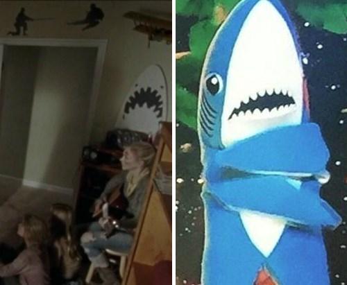 funny-walking-dead-left-shark-helped-tyreese