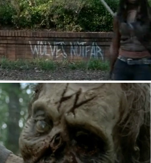 funny-walking-dead-wolves-gang-carved-initial-walkers