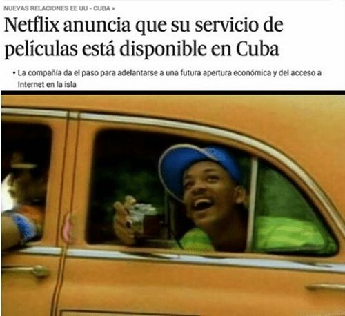 netflix en Cuba
