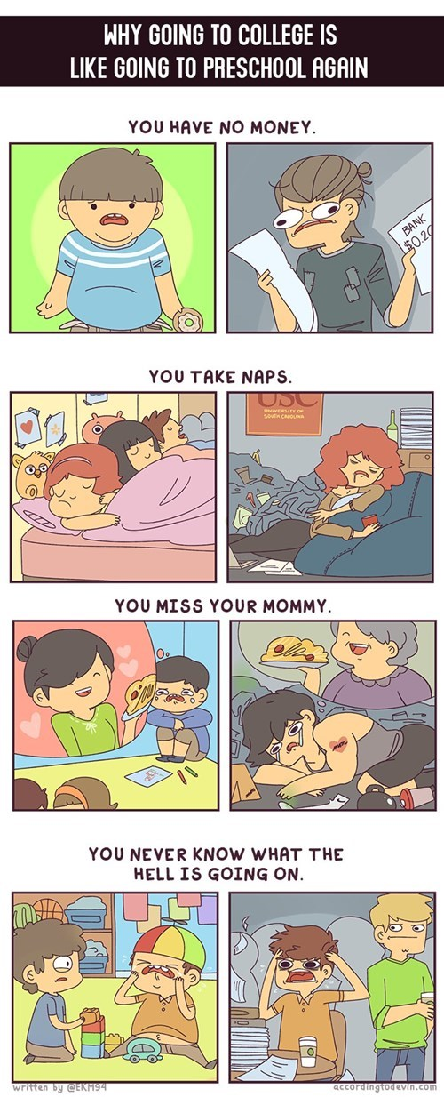 funny-web-comics-why-going-to-college-is-like-going-to-preschool-again