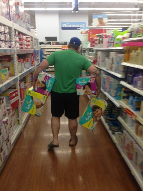 funny-parenting-no-cart-required