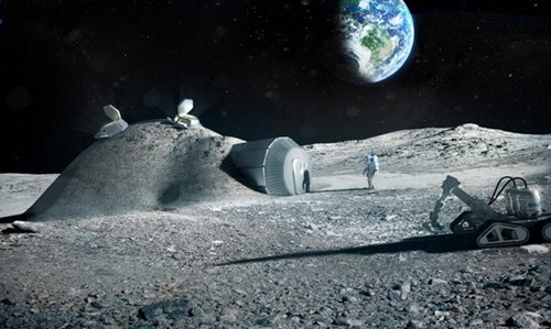 living on the moon would be difficult, go figure