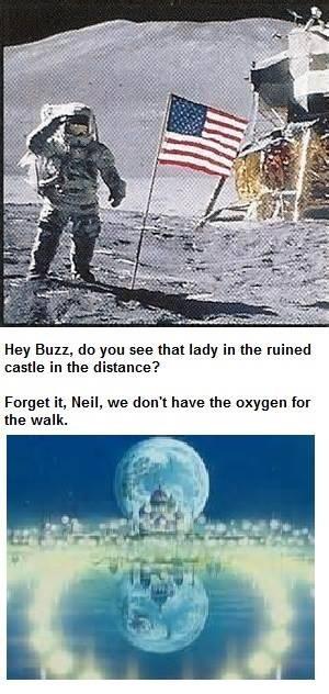 sailor moon moon landing - 8444565248
