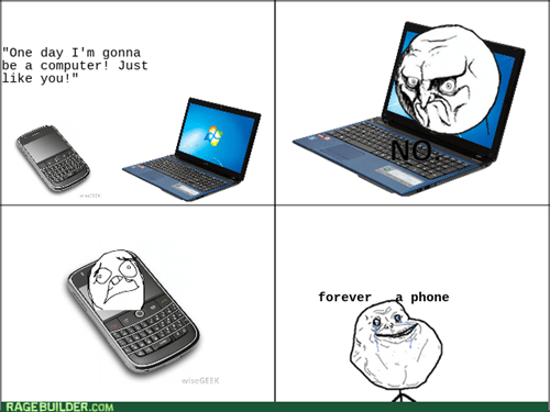 forever alone phone puns - 8444596992