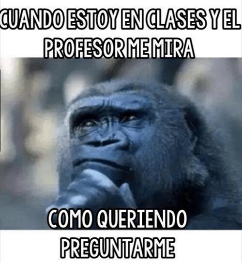 profe en clase