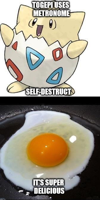 self destruct,eggs,togepi