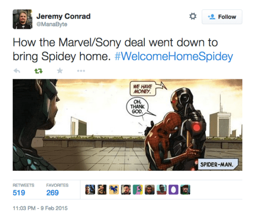And That's the Story of How Marvel and Sony Made Infinity (Gauntlet) Dollars