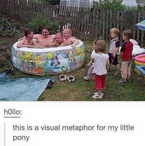 in a nutshell no kids allowed brony metaphor - 8444759552