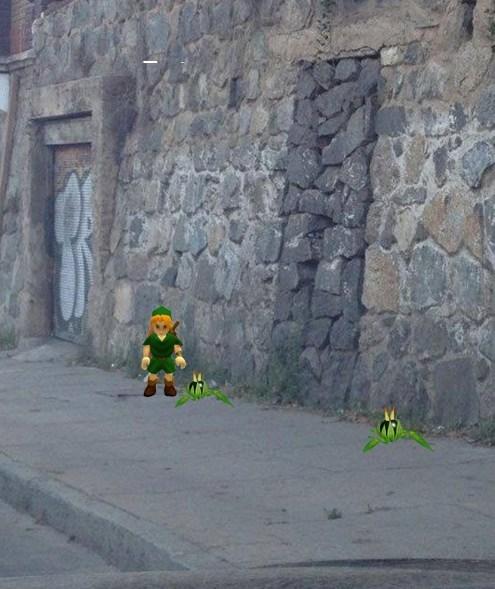 bombs the legend of zelda walls secret doot - 8444894464