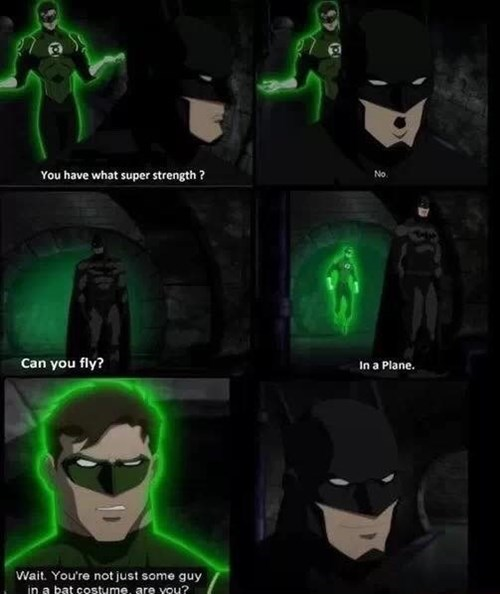 superheroes-batman-dc-green-lantern-tries-to-figure-out-super-powers