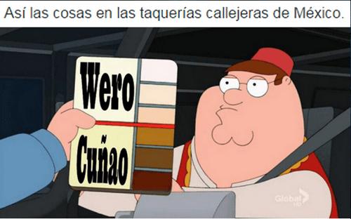 tacos en Mexico