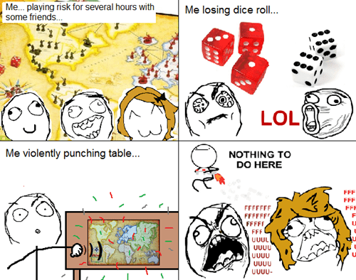 rage,risk,dice,board games