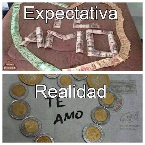 amor con dinero