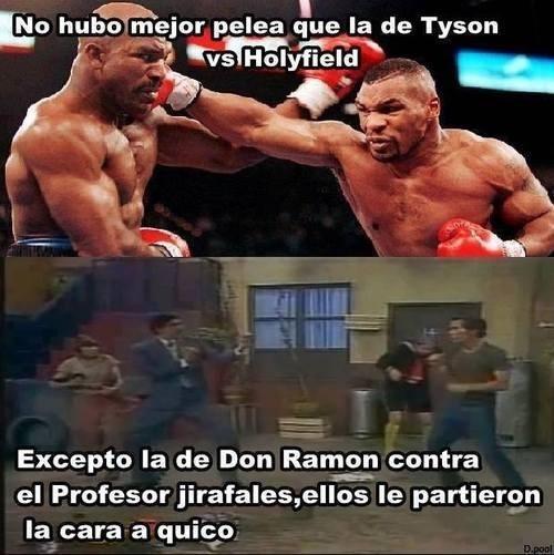 Quico contra Ramón