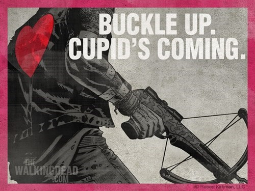 funny-walking-dead-daryl-dixon-is-cupid-this-valentines-day